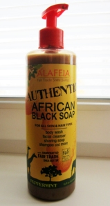 africke cierne mydlo