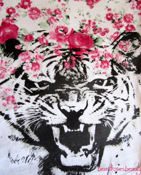 tricko s tigrom