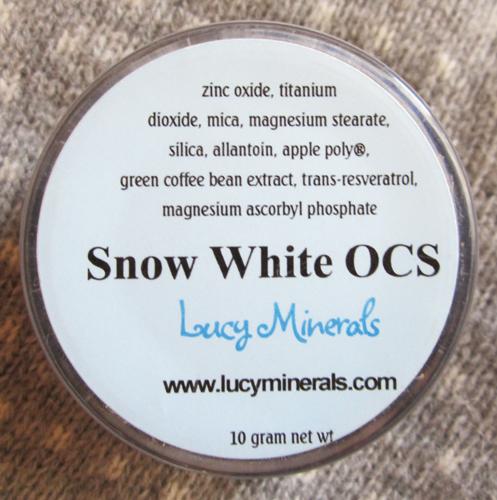 lucy minerals snow white