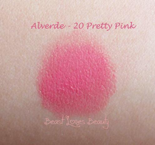 20 pretty pink lipstick alverde