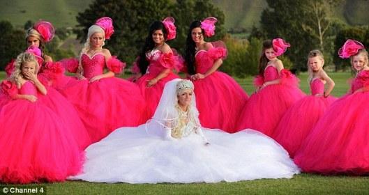 hrozna ruzova svadba