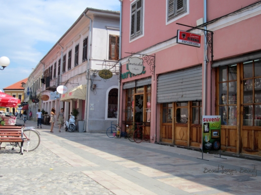 albansko promenada