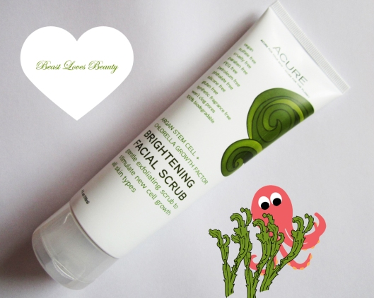 acure piling brightening scrub