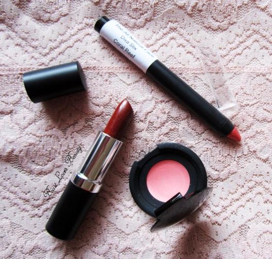 tanf lipstick diva stix poppy tequilla sunrise coral reef
