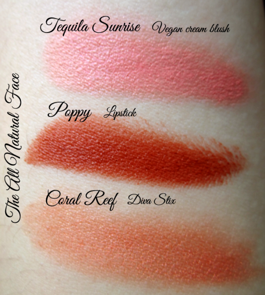 tanf tequila sunrise poppy coral reef