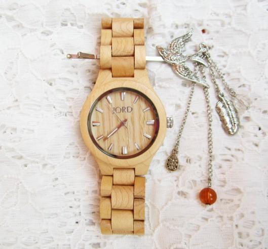 jord wood watch fieldcrest maple