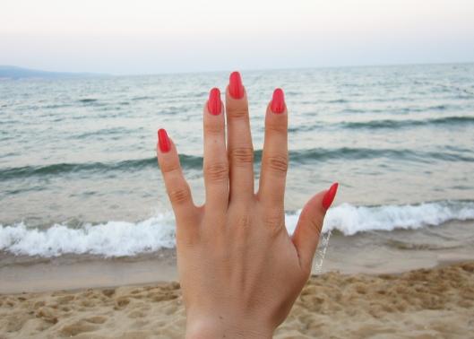mineral fusion coral reef nail polish